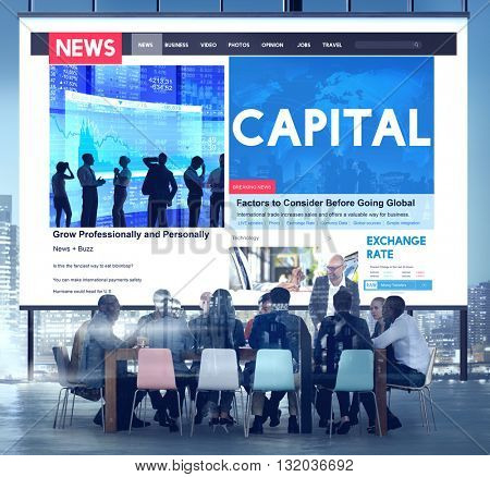 Capital Finance Business Money Profit Concept