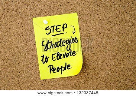 Business Acronym Step Strategies To Elevate People