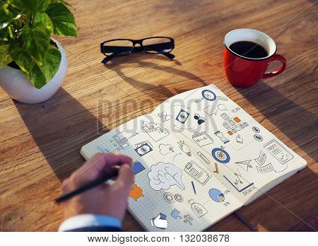 Business Growth Finance Management Concept
