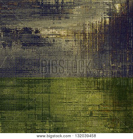 Grunge background for a creative vintage style poster. With different color patterns: yellow (beige); brown; blue; gray; black