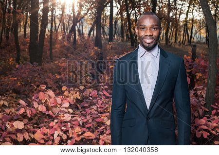 Afro American Business Man Portrait02