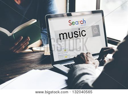 Music Rhythm Art Of Sound Playing Concept