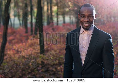 Afro American Business Man Portrait05