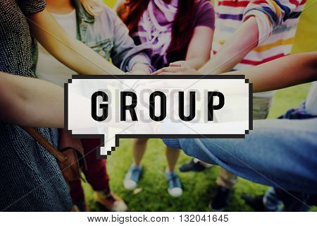 Group Team Society Company Organization Concept