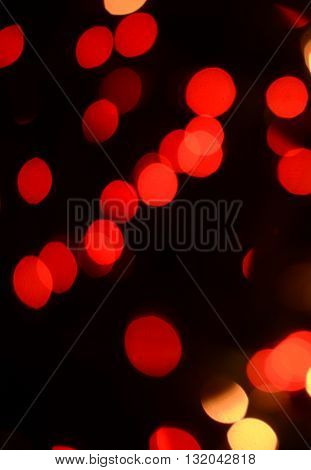 illuminated red lighting for a background with black