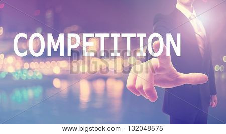 Competition Concept With Businessman