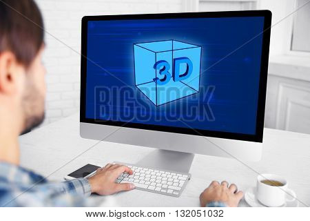 3D Printing concept, new technology