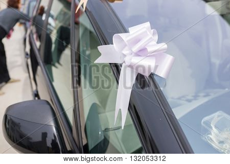 Car decoration for wedding party