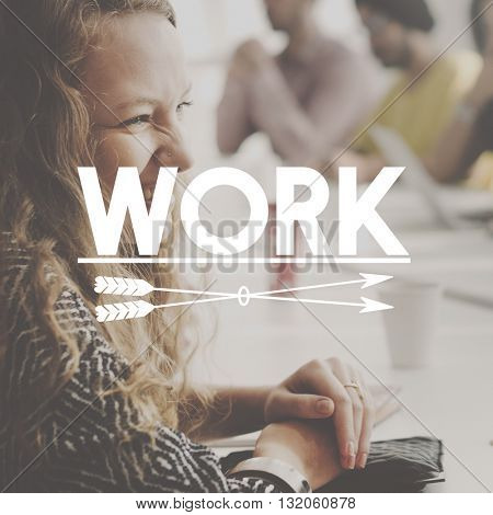 Work Business Job People Graphic Concept