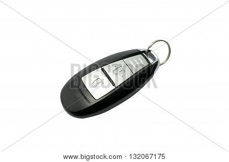Car keyless key fob in black color
