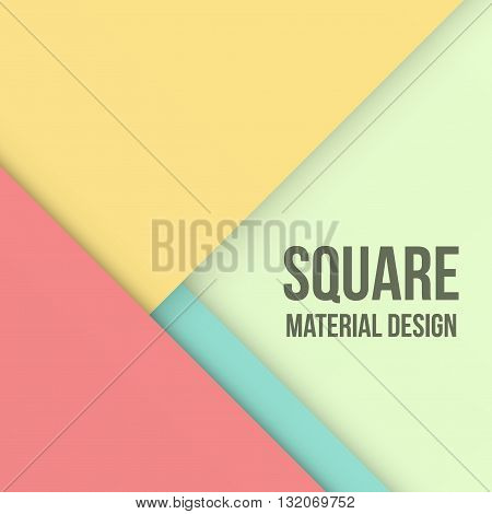 Background Unusual modern material design. Retro style. Abstract Vector Illustration.