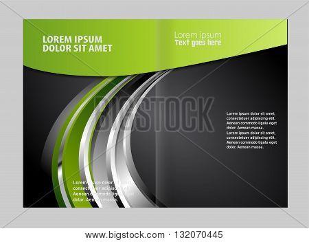 modern vector brochure. Vector template for advertising brochure