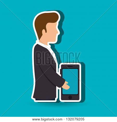 avatar buyer design, vector illustration eps10 graphic