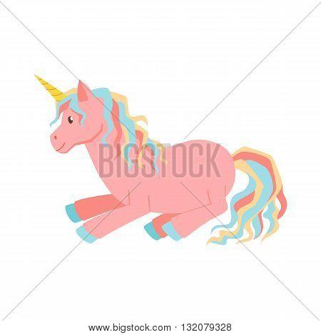 Unicorn magic vector. Unicorn is sleeps. Cute unicorn cartoon illustration. Unicorns for birthday greeting card. Cute child poster