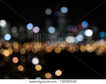 Night city life