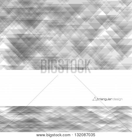 Abstract background of triangles. Vector illustration EPS10.
