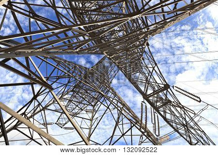 High-voltage Power Transmission Towers