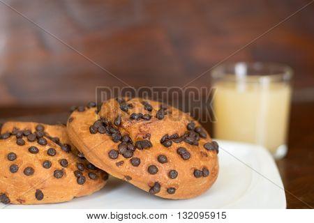 Brioche With Chocolate Drops