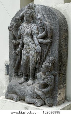 The Statue of Goddess Durga Mahisasura Mardhini 8th - 10th century