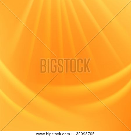 Abstract Light Background. Blurred Lights Yellow Background