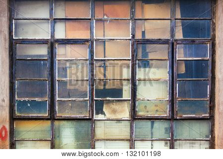 Factory's old window