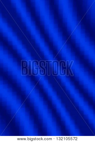 Abstract textured wavy background mosaic of squares blue shades