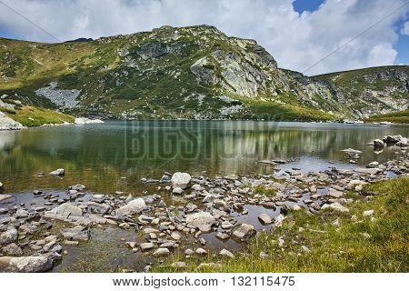 Amazing Panorama of The Trefoil, Rila Mountain, The Seven Rila Lakes, Bulgaria
