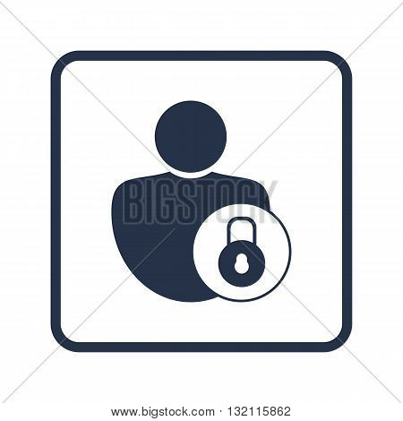 Lock Close Icon In Vector Format. Premium Quality Lock Close Symbol. Web Graphic Lock Close Sign On