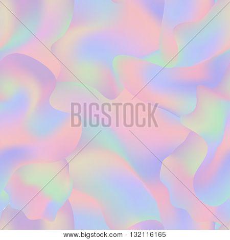 Hipster boho holographic mesh seamless pattern. Minimal printable journaling card, creative card, art print, minimal label design for banner, poster, flyer.