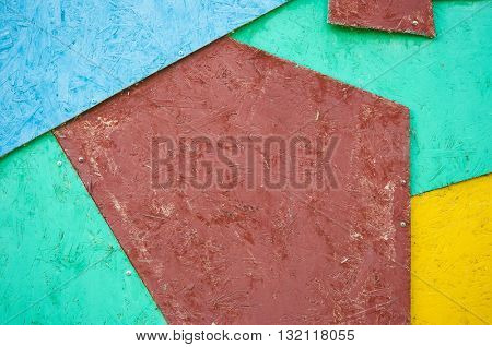 Colorful wood plank texture background