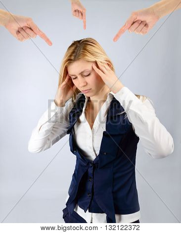 Arms Show A Woman Under Stress