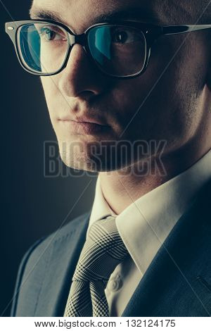 Handsome Young Guy Businessman