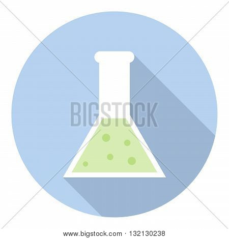 Science Laboratory Flask Glassware Research And Chemistry Equipment