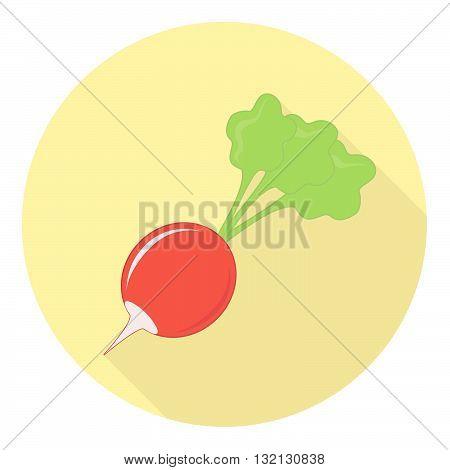 Radish Plant Symbol