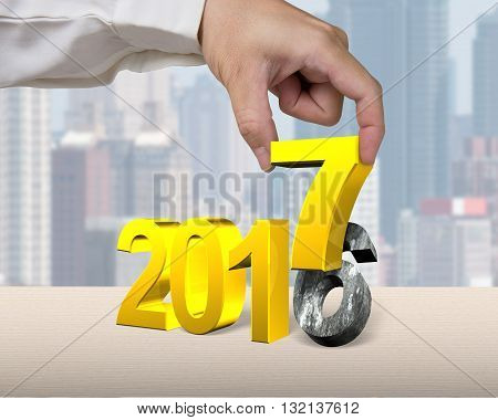 Hand Holding 2017 Year