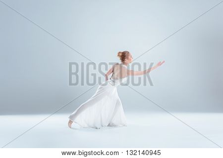 Young And Beautiful Ballet Dancer
