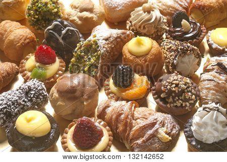 pastries, small italian dessert
