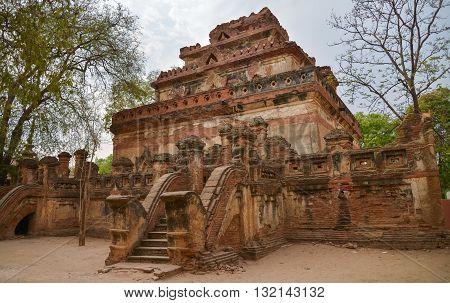 Ananda Ok Kyaung temple in Bagan, Myanmar