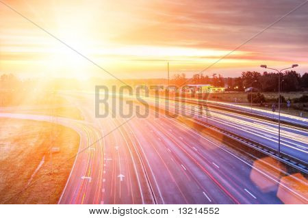 Picture of a highway