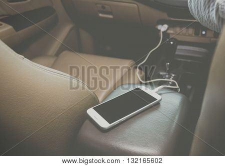Charger plug phone, Smart Phone on car