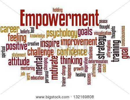 Empowerment, Word Cloud Concept 9