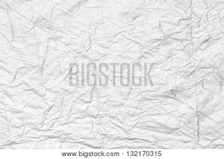 Abstract white creased paper background texture.paper background