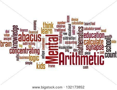 Mental Arithmetic, Word Cloud Concept 5