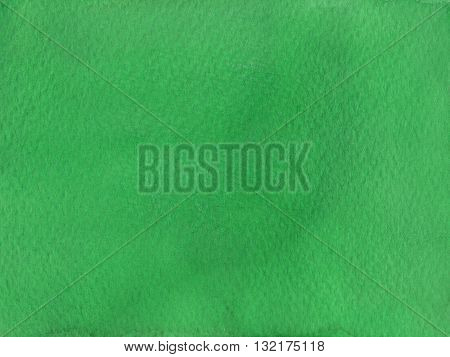 flat intense dark green abstract watercolor background