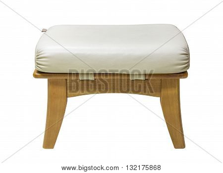 Small Chair Isolated On White With Clipping Path