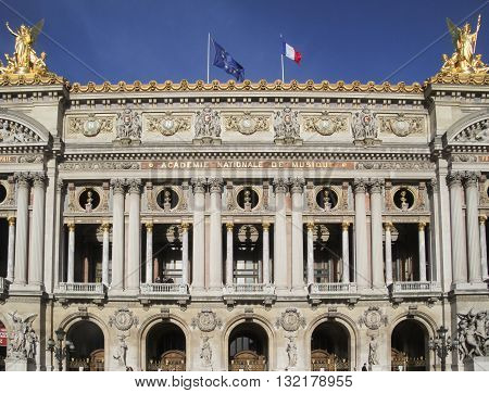 The Paris Opera Palais Garnier Paris France