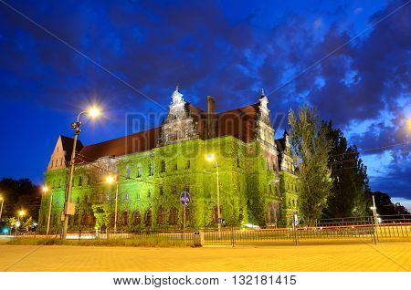 Wroclaw City By Night