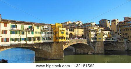 Ponte Vecchio - Tuscan Toscana Toskana Italy