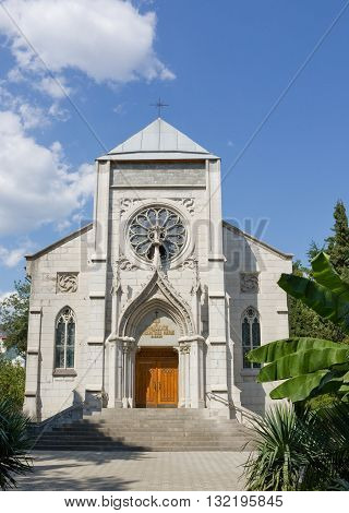 The Roman Catholic Church of the Immaculate Conception of the Blessed Virgin Mary in Yalta, Crimea,