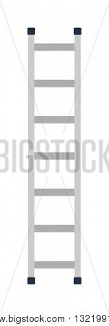 Construction ladder vector illustration.
